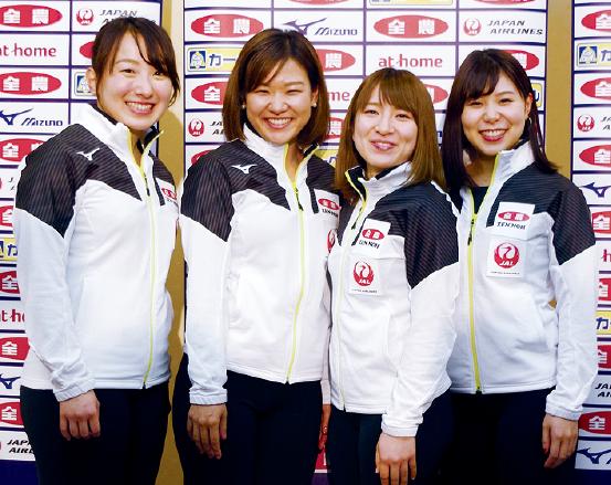 カーリング女子日本代表がW杯初...