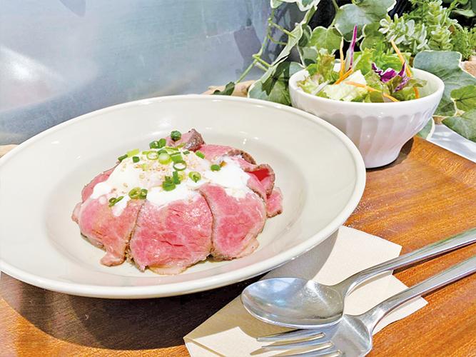 仙台牛のローストビーフ丼(みのりカフェ エスパル仙台店)